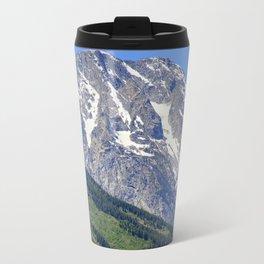 Grand Tetons Mountain and Slope Travel Mug