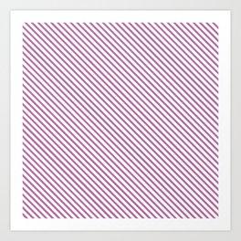 Bodacious Stripe Art Print
