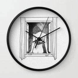 The room window. Wall Clock