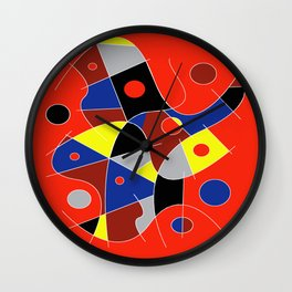 Abstract #222 The Cellist Wall Clock
