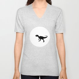 Carnivore and Moon TEE Unisex V-Neck