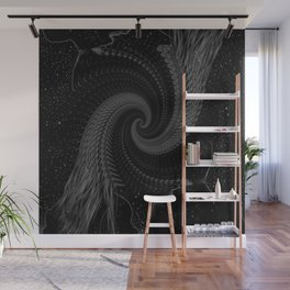 Into the Void Together Wall Mural