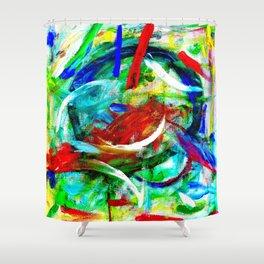Chinese Fishbowl Shower Curtain
