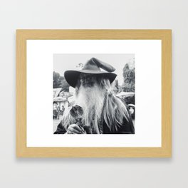 Wise Wizard of Castleton Framed Art Print