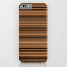 Bronze Tone Stripe Slim Case iPhone 6s