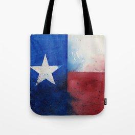 Flag of Texas Tote Bag