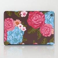 vintage flowers iPad Cases featuring Vintage Flowers by Anto Del Vecchio