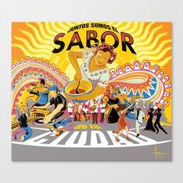 JUNTOS SOMOS EL SABOR DE LA CIUDAD 1 Canvas Print