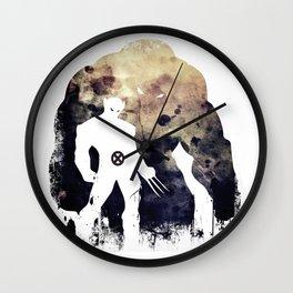 Superheroes minimalist - juggernaut Wall Clock