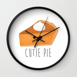 Cutie Pie Wall Clock
