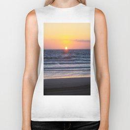Sunset at Pismo Beach Biker Tank