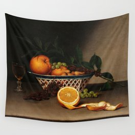Still Life with Oranges, 1818 by Ralphaelle Peale Wall Tapestry