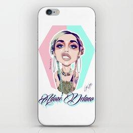ADORE DELANO - Grunge Queen Realness iPhone Skin