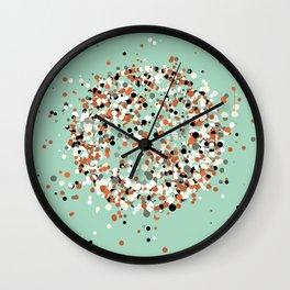 spheres 3 Wall Clock