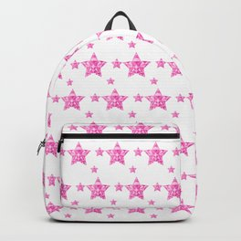 Fushcia Stars Backpack