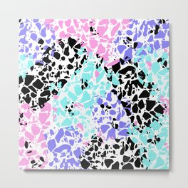 Multicolor Pattern Abstract  Metal Print