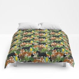 Jungle Pattern Comforters