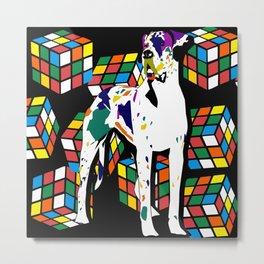 Rubik dane Metal Print
