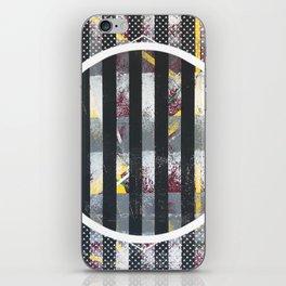 Polarized - dot graphic iPhone Skin