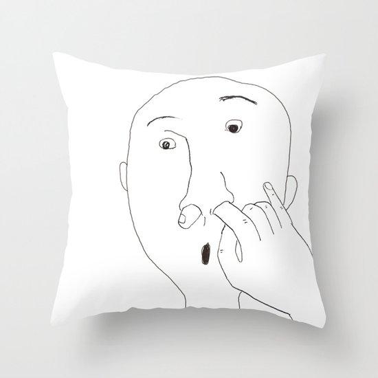 pick Throw Pillow