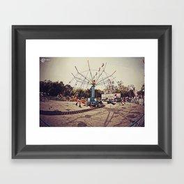 Super Swings! Framed Art Print