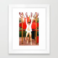 You my Hero Framed Art Print