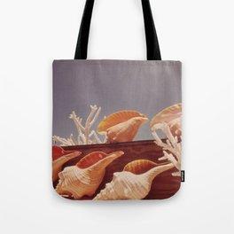 Souvenir Seashells Tote Bag