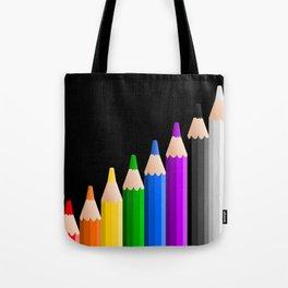 ColoredPencils Tote Bag