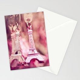 eiffel charm Stationery Cards