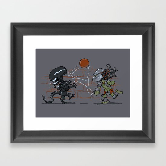 AvsP Framed Art Print