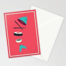Sushi Fish Stationery Cards