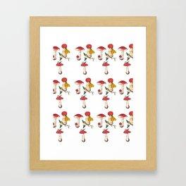 Mushie Love Framed Art Print