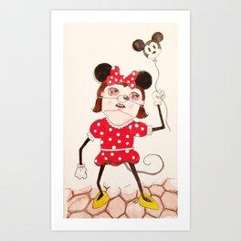 Minnie  Art Print