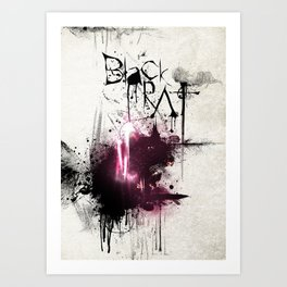 Black Rat Art Print