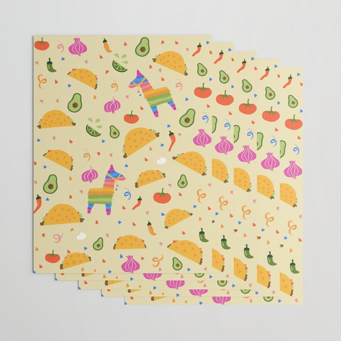 Taco Fiesta Wrapping Paper
