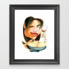 Wine Snob No.4 Framed Art Print