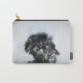 Tr(u)ee love double exposure Carry-All Pouch