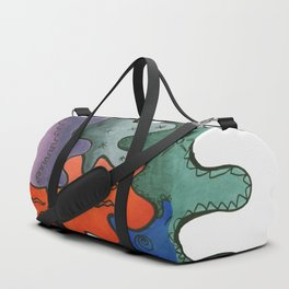 Relaxing Ornamental Spirits. Meditative iFi Art. Stress and Pain Free with MYT3H. Mystic. Origin. Duffle Bag