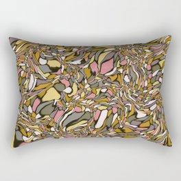 Terrazzo-Earthy Colorway Rectangular Pillow