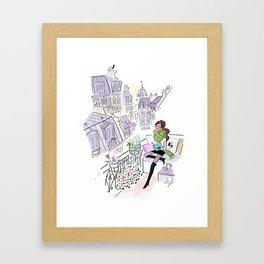 Just relax Framed Art Print