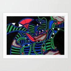 Print #15 Art Print