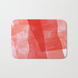 Pink flags Bath Mat