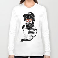 dreamer Long Sleeve T-shirts featuring Dreamer by Anya Volk