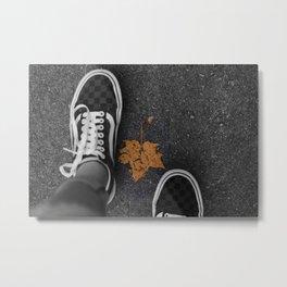 Open to Fall Metal Print