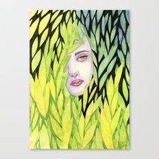 Botanical cage Canvas Print