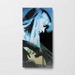 Joni Mitchell Watercolor Metal Print