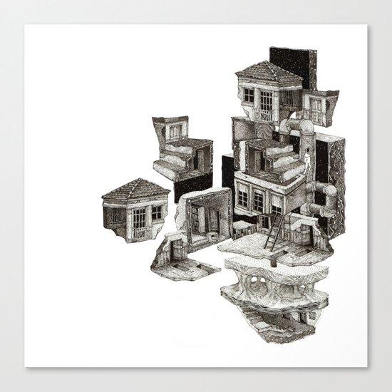 house fragment Canvas Print