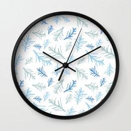 Winter Twigs Wall Clock