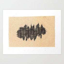 pen city Art Print