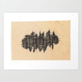 pen city Art Print